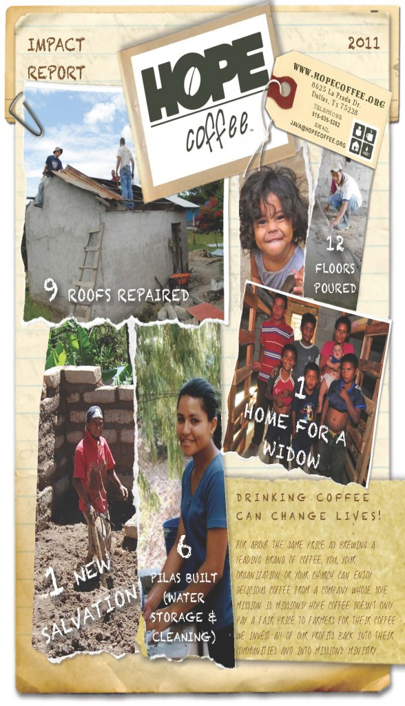 HOPE Coffee 2011 Impact Report